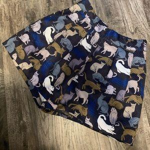 H&M size 6 cat shorts